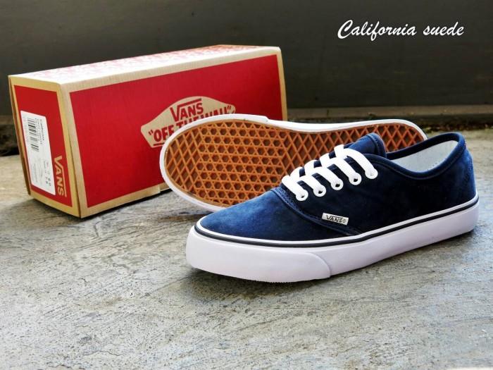 Jual Sepatu Vans California Suede Biru Navy Waffle IFC - Lapak ... bcb4ce6f57
