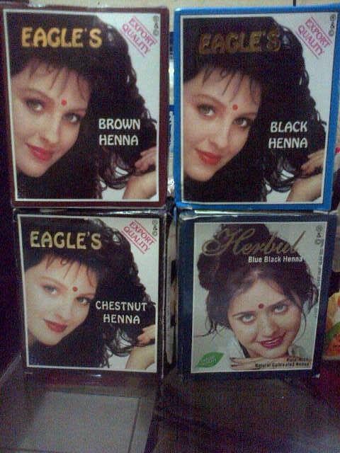 Jual Cat Rambut Semir Rambut Henna Eagle S Original Bppom Box