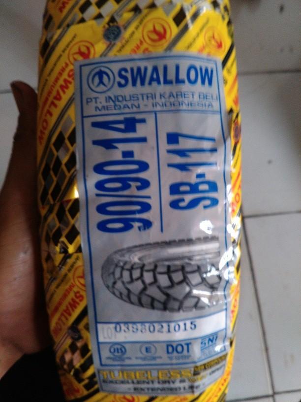Ban Semi Cross Matic Swallow SB117 Street Enduro 90