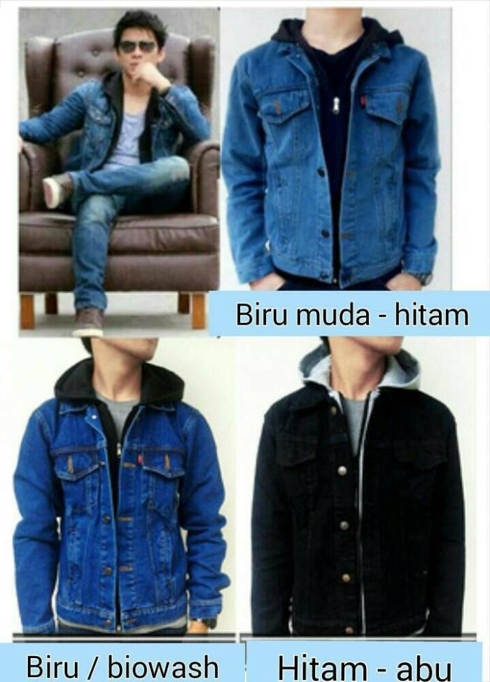 Foto Produk Jaket Jeans Aril Hoodie dari Octavia wijaya