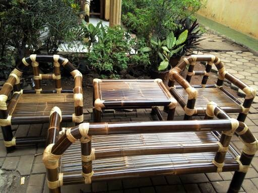 66 Koleksi Gambar Kursi Bambu Sederhana Terbaru