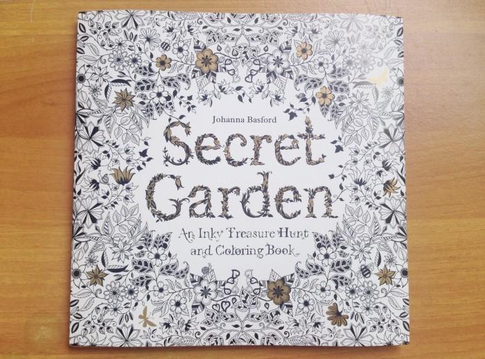 Secret Garden Coloring Book Johanna Basford