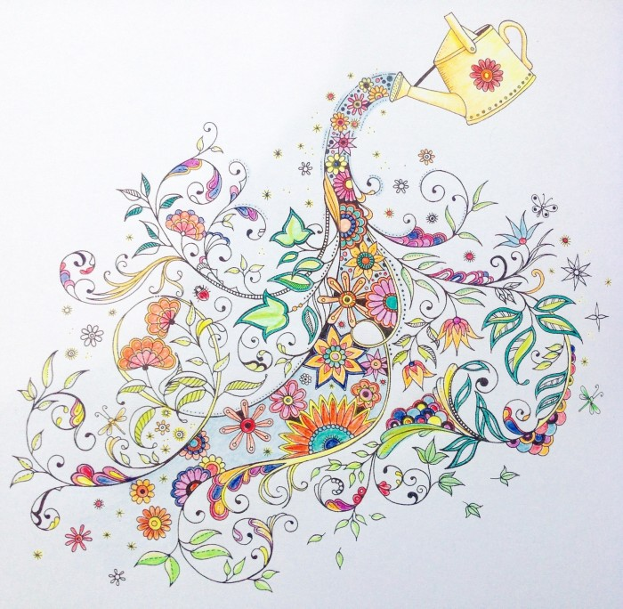 Secret Garden Coloring Book Johanna Basford