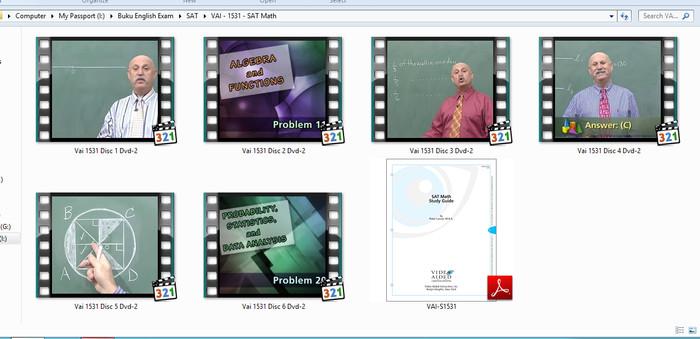 Foto Produk Video Tutorial, Buku Digital dan File Persiapan Ujian / Tes SAT dari Menjual Buku Gmat
