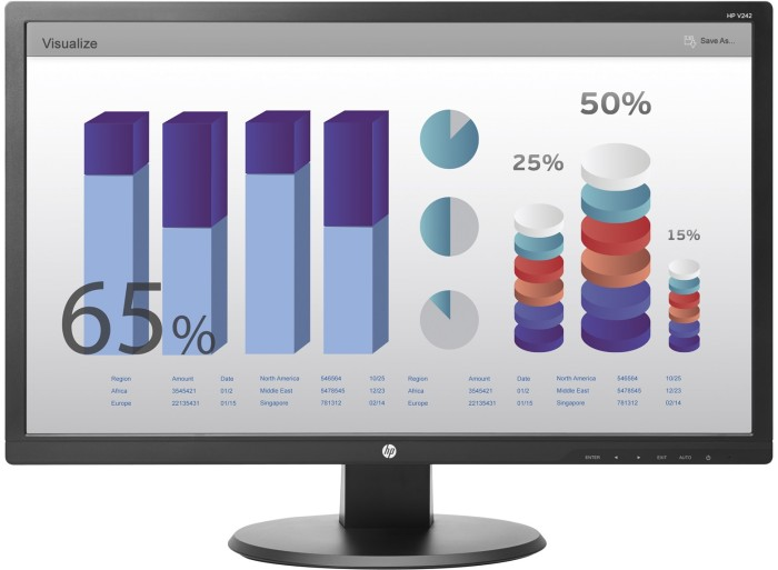 harga Hp v242 24-inch led monitor Tokopedia.com