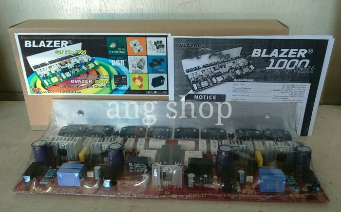 harga Kit power amplifier blazer st pro 1000w stereo with spk protector Tokopedia.com