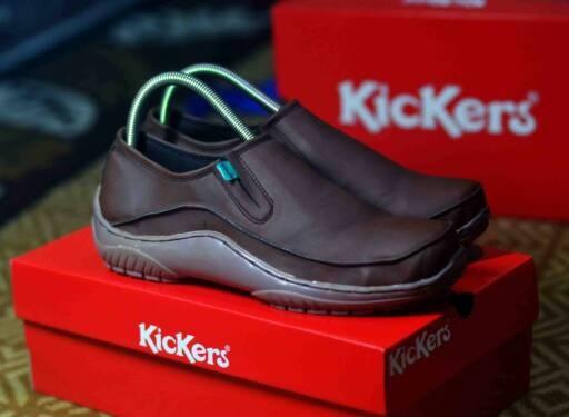 harga Sepatu santai casual formal pria kickers jacky grade original Tokopedia.com