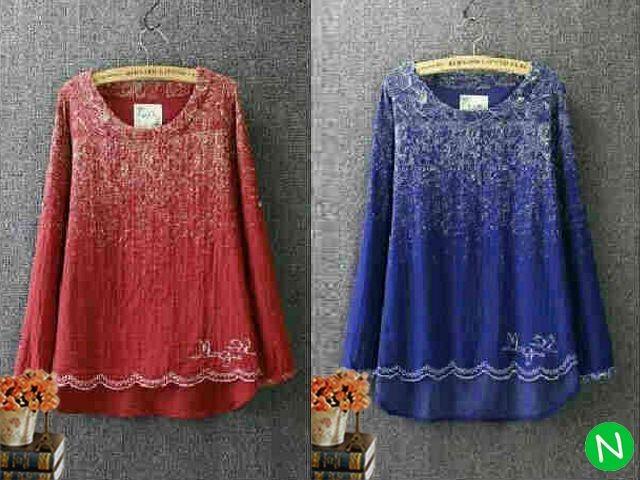 harga 42312-blouse abstrak blouse (jersey) l besarpj blouse 67cmld 98cmbe Tokopedia.com
