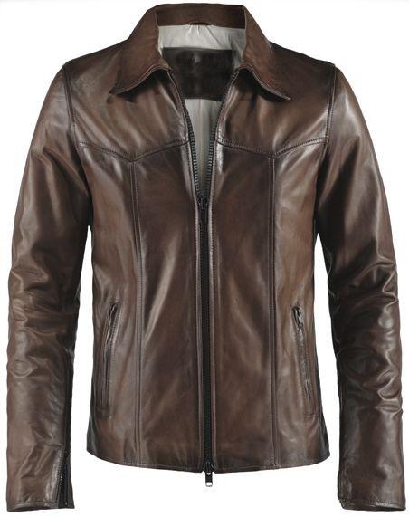 Jual jaket kulit pria bahan kulit domba asli model kerah io 18 cek ... cb22963062
