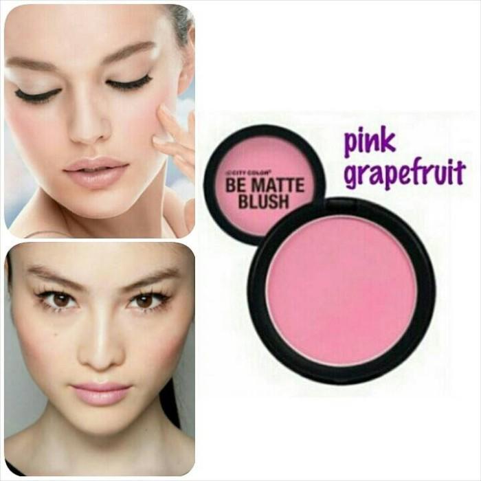 City Color Be Matte Blush - Pink Grapefruit