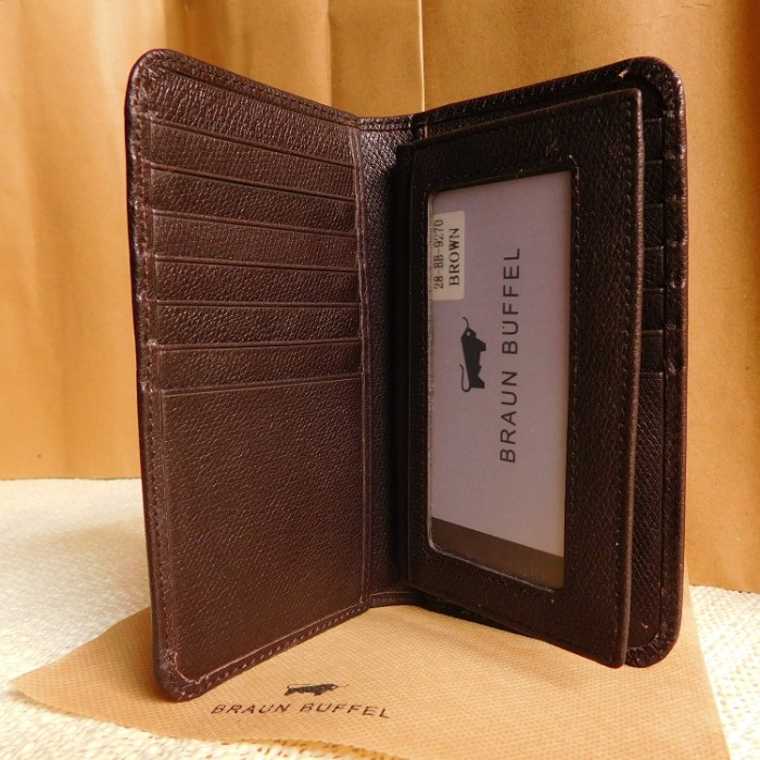 Dompet Kulit Pria Berdiri Import Branded Braun Buffel Bb 0105black Source · DOMPET KARTU KULIT PRIA
