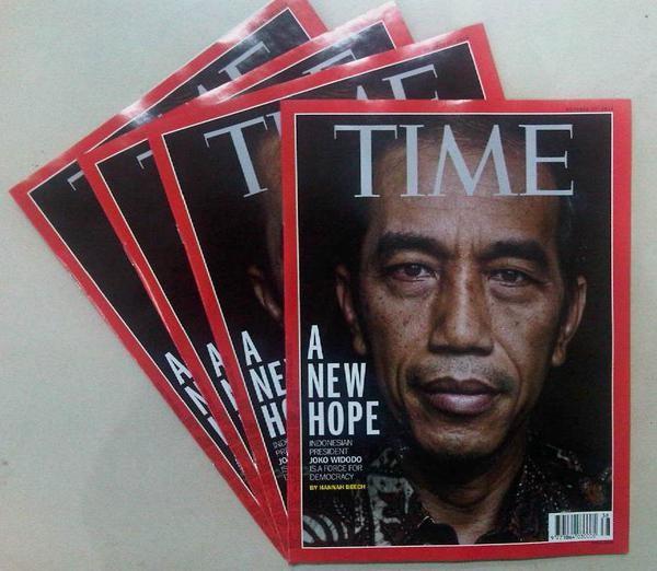 harga Majalah time edisi oktober 2014 cover jokowi Tokopedia.com
