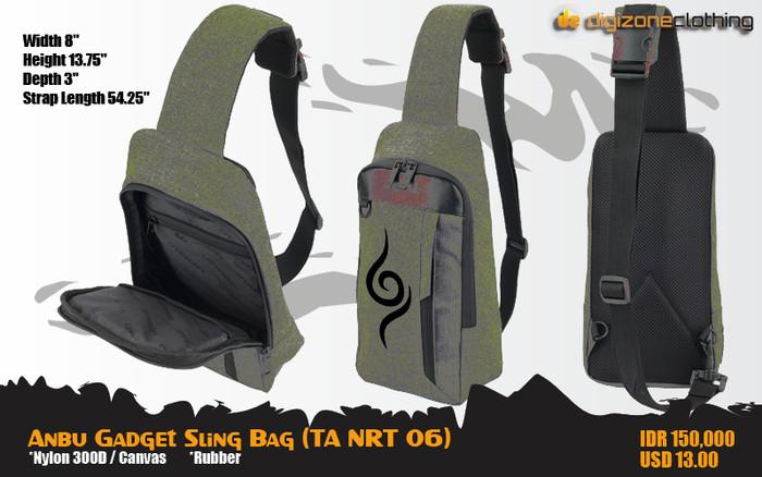 harga Anbu gadget sling bag (tas naruto - ta nrt 06) Tokopedia.com