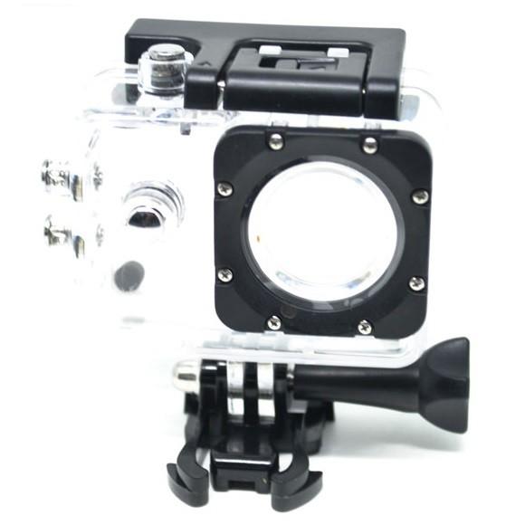 harga Underwater waterproof case ipx68 40m for sjcam sj4000 button top Tokopedia.com