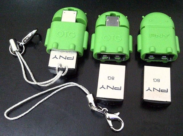 harga Micro usb on the go (otg) merk pny model robot android + flashdisk 8gb Tokopedia.com