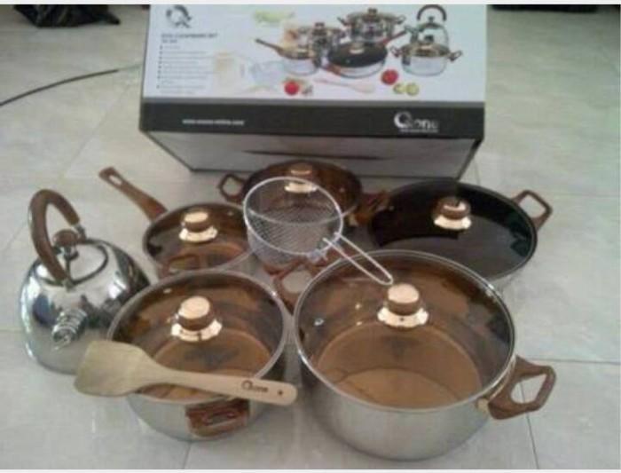 Ox-933 oxone eco cookware set 12+2 pcs