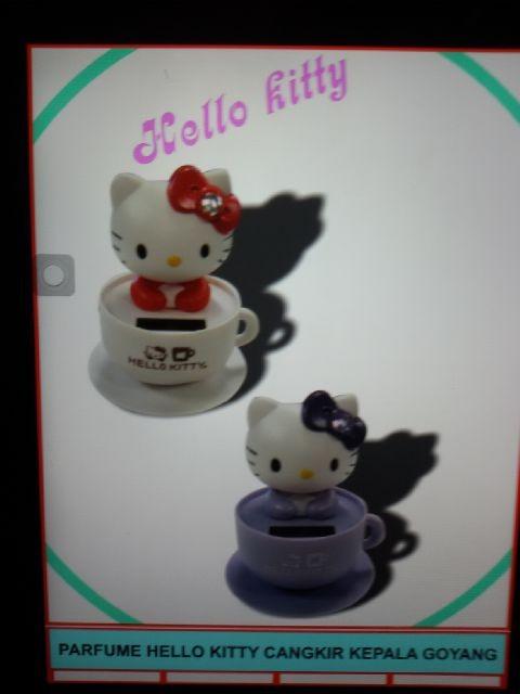 harga Parfum hello kitty cangkir kepala goyang Tokopedia.com