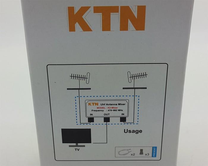 harga Kitani 2 antena uhf jadi 1 ( uhf digital antenna mixer ) Tokopedia.com