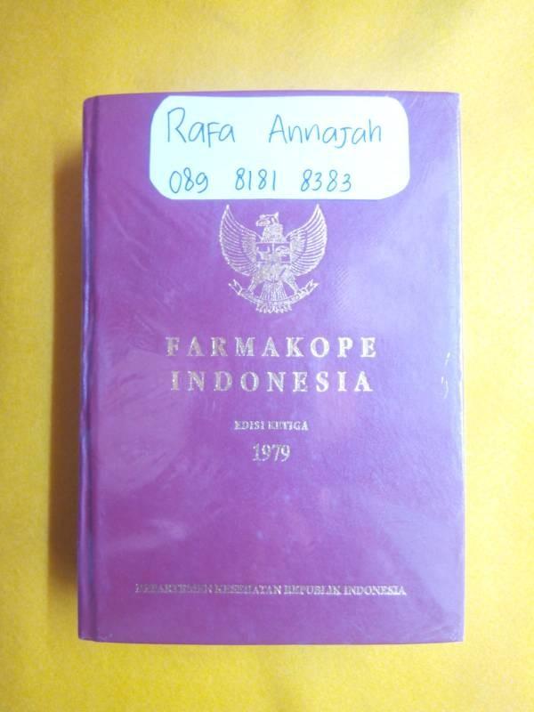 harga Farmakope indonesia edisi ketiga 1979 Tokopedia.com