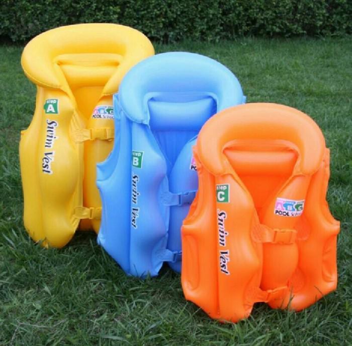 harga Pelampung anak rompi renang swim vest lifejacket jacket jaket ban Tokopedia.com