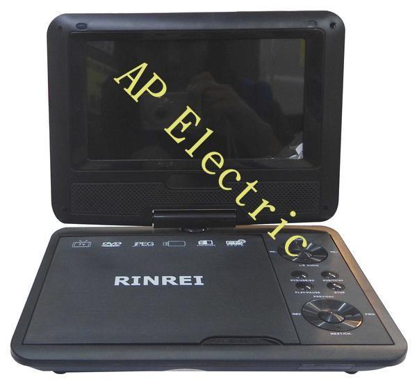 harga Portable tv / dvd player rinrei 7  wide screen Tokopedia.com