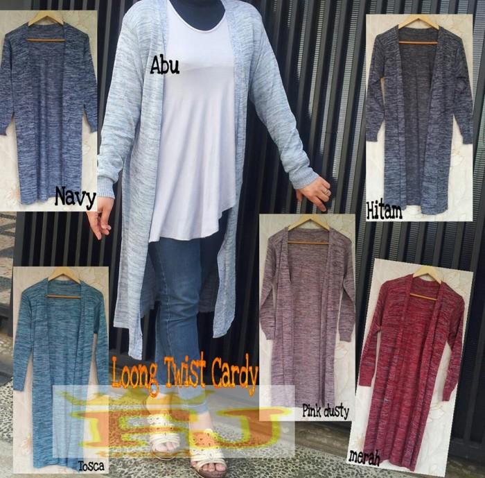 Baju wanita - Jaket/ long outer/ long cardigan/ long coat/ sweater