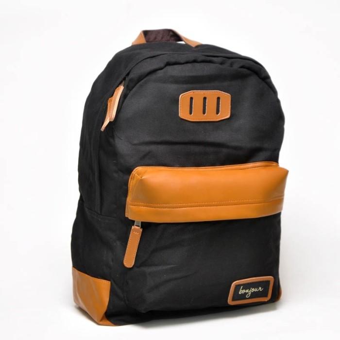 Jual tas vintage backpack bonjour cek harga di PriceArea.com 346bc74c9a