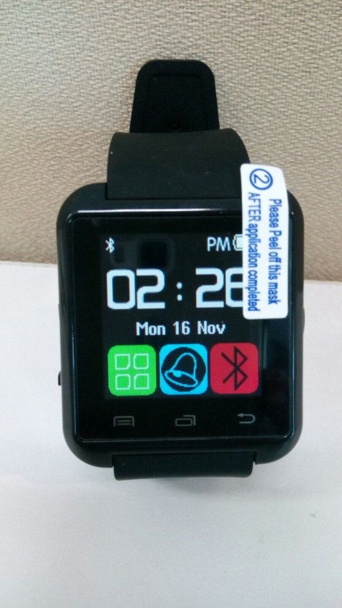 I-One U8 Smartwatch For Android and iOS - Jam Tangan Unisex - Hitam