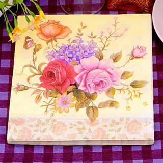 harga Tissue napkin decoupage Tokopedia.com