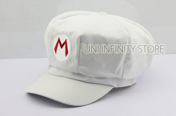 harga Acht0001 topi white raccoon mario hat costume cosplay Tokopedia.com