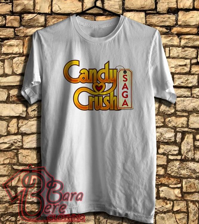 Jual KAOS | DISTRO | TSHIRT | OBLONG | Candy Crush Saga - Kota Semarang -  barabereclothing | Tokopedia