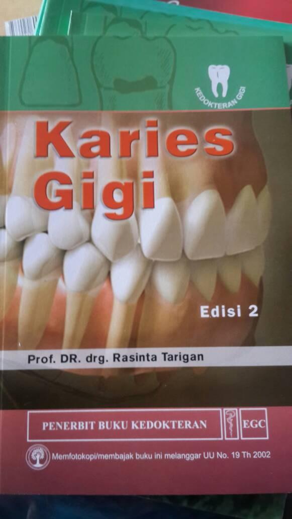 harga Karies gigi prof.rasinta tarigan ed 2 egc Tokopedia.com