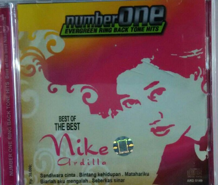 harga Cd the best nike ardilla number one evergreen Tokopedia.com