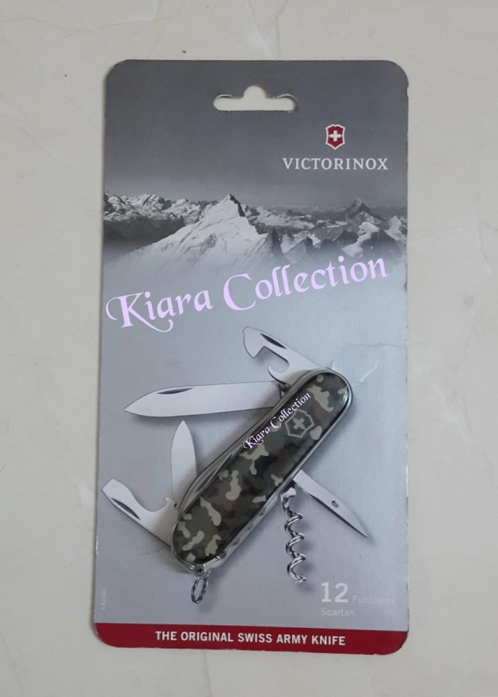 Jual Victorinox Knife Swiss Army Original Spartan 12