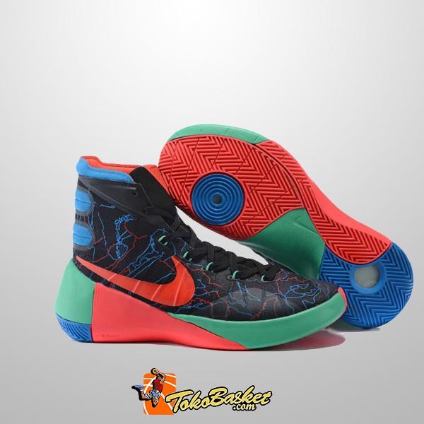 b6a26de6858f Jual Sepatu Basket Nike Hyperdunk 2015 Black Red Orange Replika ...
