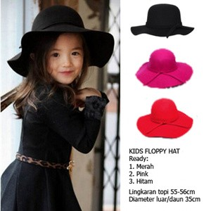 ... harga Topi floppy hat anak floopy hat topi pantai topi lebar topi anak  Tokopedia.com d0a603c247