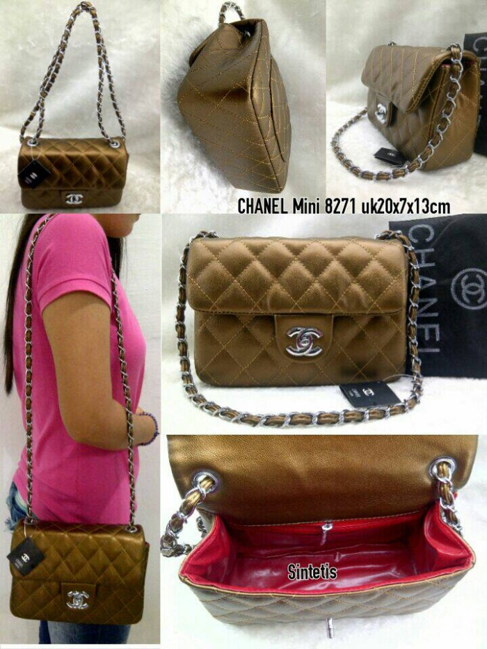 Jual Jual Tas Chanel Mini 8271 Super Model Terbaru - DIAN CANTIKA ... 3a13de6de6