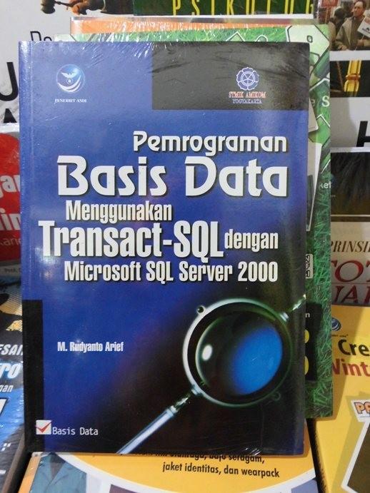 harga Pemrograman basis data menggunakan transact-sql dengan microsoft sql s Tokopedia.com