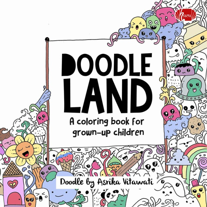 Coloring Book Doodle Land