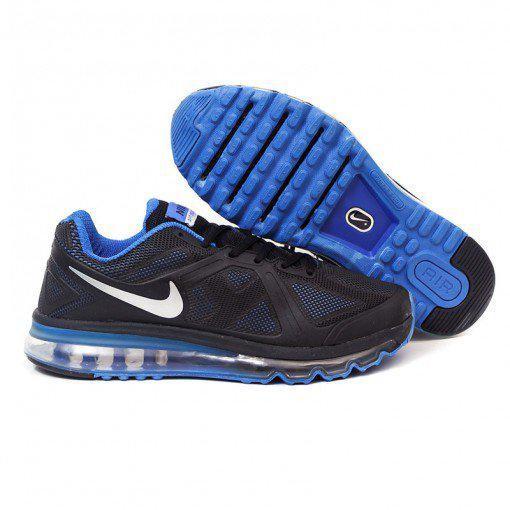 nouveau concept 9bee4 65af2 Jual Sepatu Running/Casual Nike Air Max Fitsole 2 Men Hitam Biru - Kota  Metro - Hikmatiar | Tokopedia