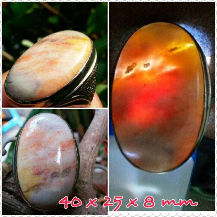 harga Bacan obi motif jumbo tebal ring titanium Tokopedia.com