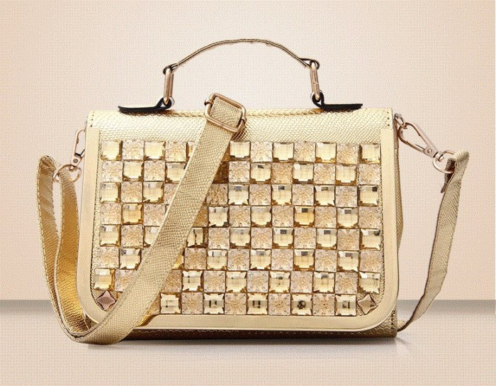 Jual tas selempang jinjing wanita gold cantik trendy murah supplier ... 75767996c0