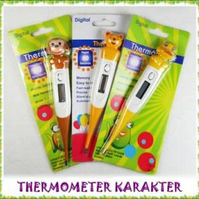 harga Termometer Karakter Elastis Digital Tokopedia.com