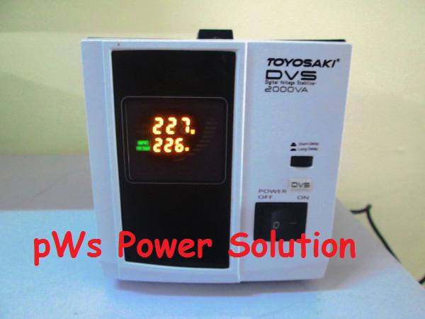 harga Stabilizer voltage lsitrik 2000va lcd display Tokopedia.com