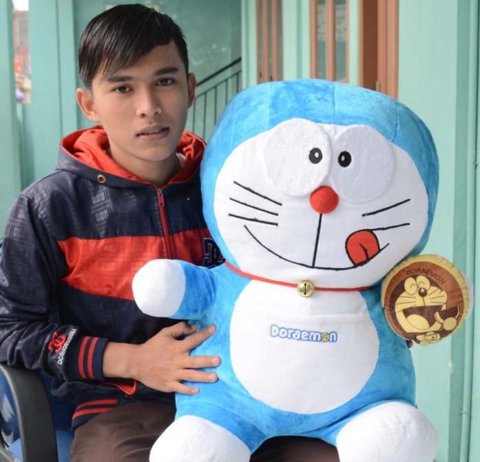 Boneka Doraemon Dorayaki Besar Soft Yelfo 70 cm (SNI)
