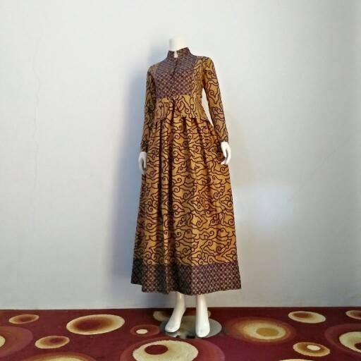Jual Gamis Batik Mega Mendung Loly Fashion Olshop Tokopedia
