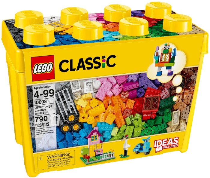 harga Lego classic (10698) large creative brick box Tokopedia.com