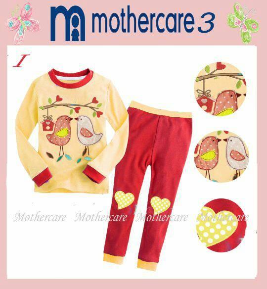 harga Piyama baby mothercare 3i bird couple yellow burung baju anak bayi Tokopedia.com