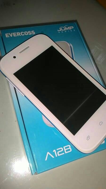 Evercoss a12b android 3g murah 3.5 /3g