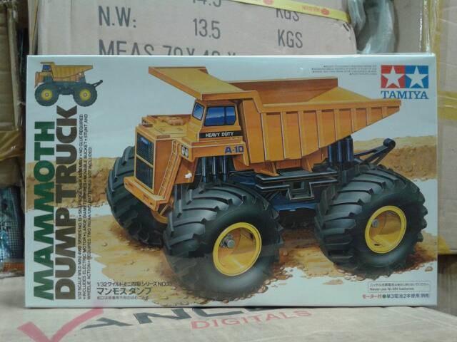 harga Tamiya 1:32 mammoth dump truck Tokopedia.com